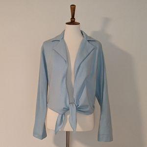 Betty Hanson & Co. Blue Vintage Blouse